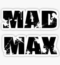 Mad Max Sticker