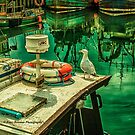 Harbour Reflections 01 by peter donnan