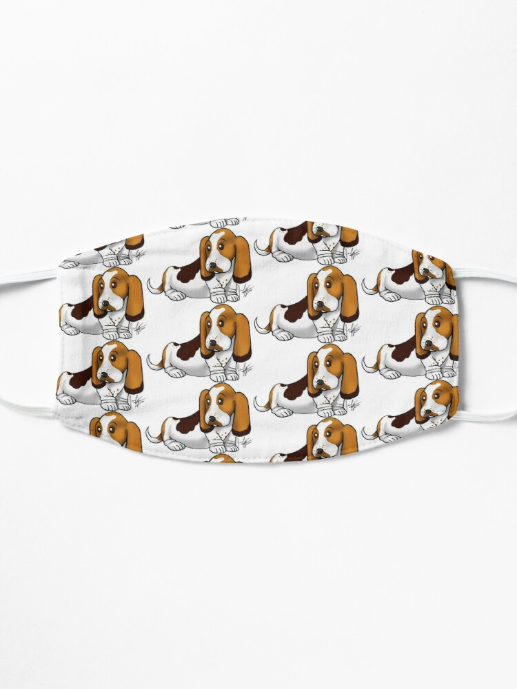 Alternate view of Basset Hound Mask