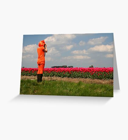 Queens Day in Holland Greeting Card