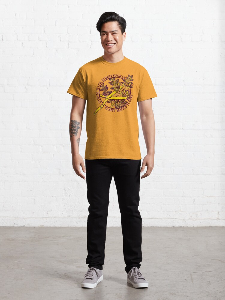 Alternate view of Down With Honeysuckle Classic T-Shirt