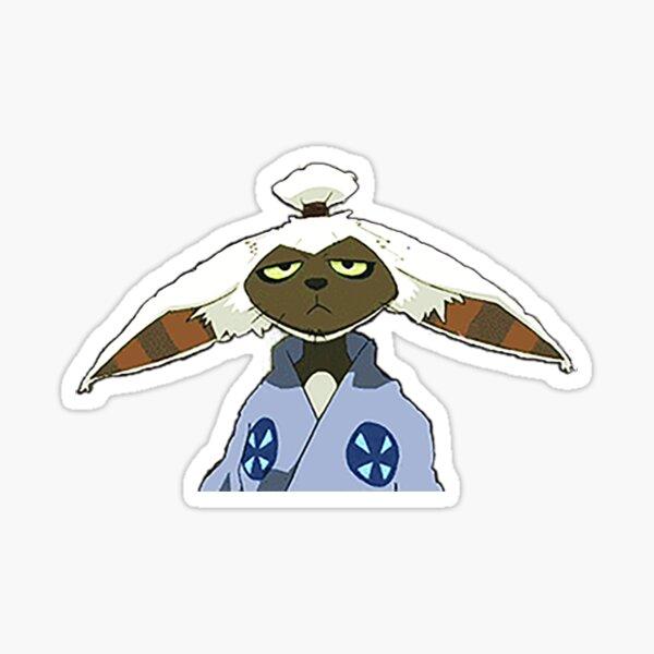 Samurai Momo d'Avatar le dernier AirBender Sticker