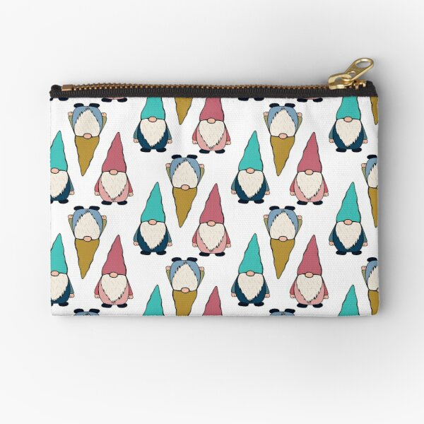 Gnome sticker pack and pattern 1 Zipper Pouch