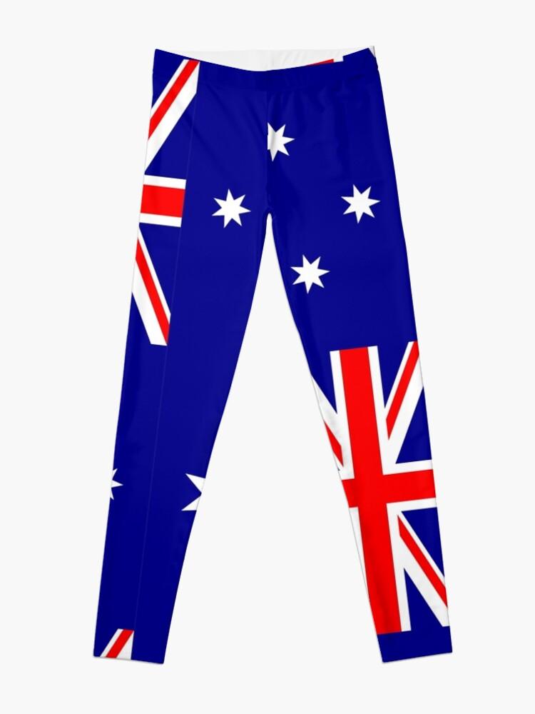 Alternate view of Australia Flag Leggings