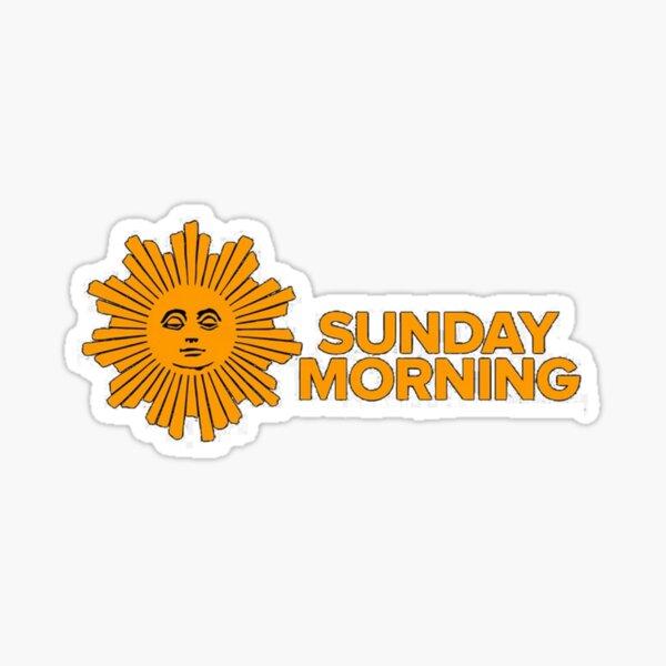 sunday morning Sticker
