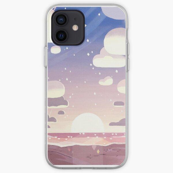 Steven Universe background  iPhone Soft Case
