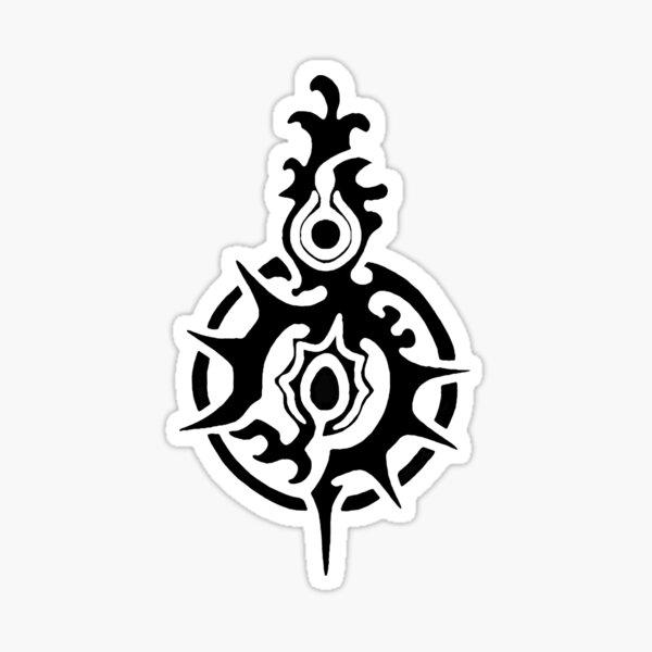 Caim Emblema Sticker