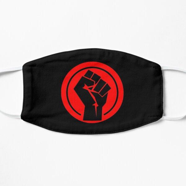 RED Black socialist fist Mask