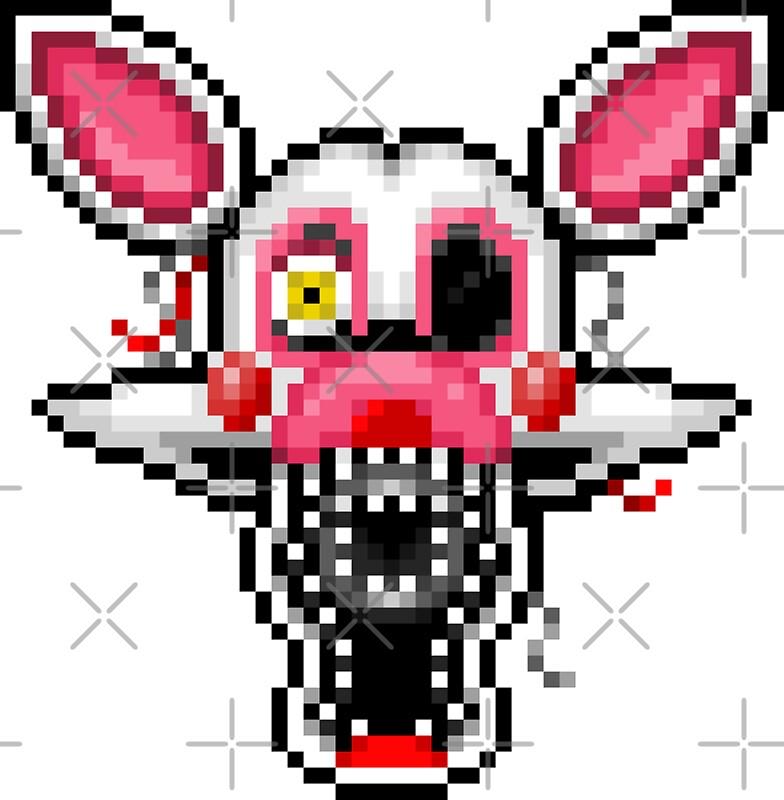 fnaf 2 pixel art