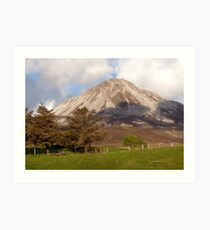 Mount Errigal Art Print
