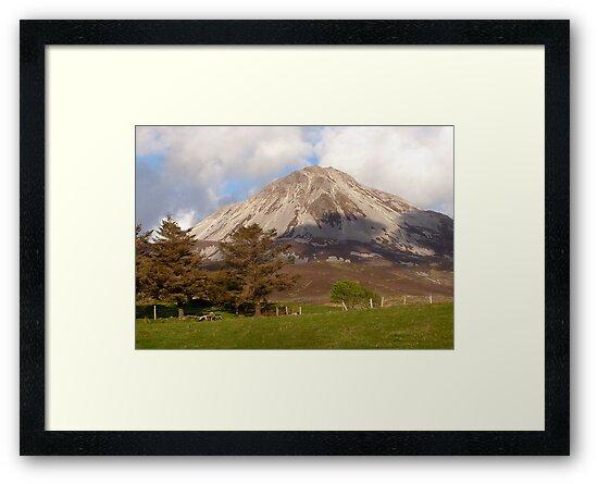 Mount Errigal by Fara