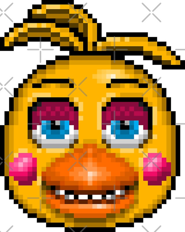 Quot Five Nights At Freddy S 2 Pixel Art Toy Chica
