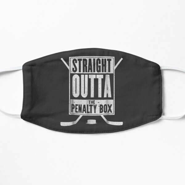 Straight Outta The Penalty Box Funny Ice Hockey Gift Mask
