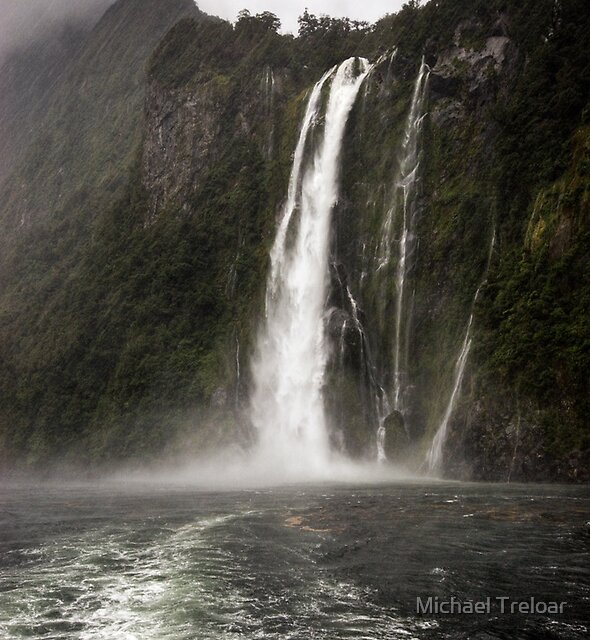 Stirling Falls, Still Raining by Michael Treloar
