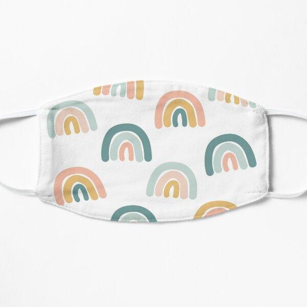Rainbows  Flat Mask
