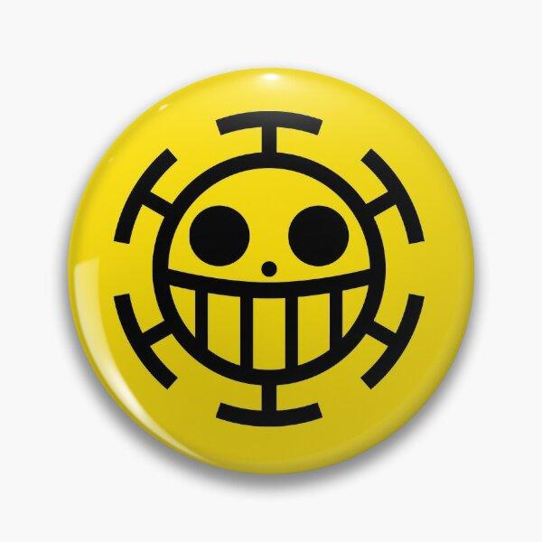Heart Pirates Jolly Roger Pin
