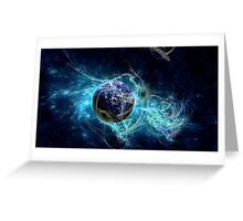 Blue Planet Greeting Card
