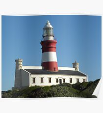Cape Agulhas Lighthouse Poster
