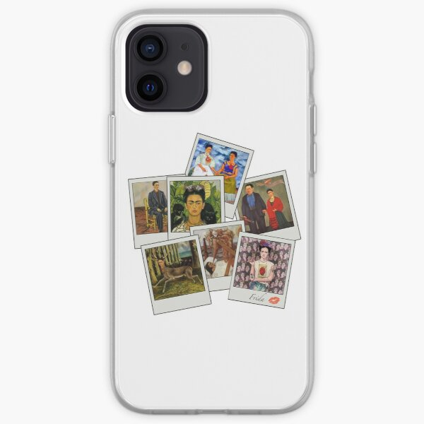 Polaroid Kahlo Funda blanda para iPhone