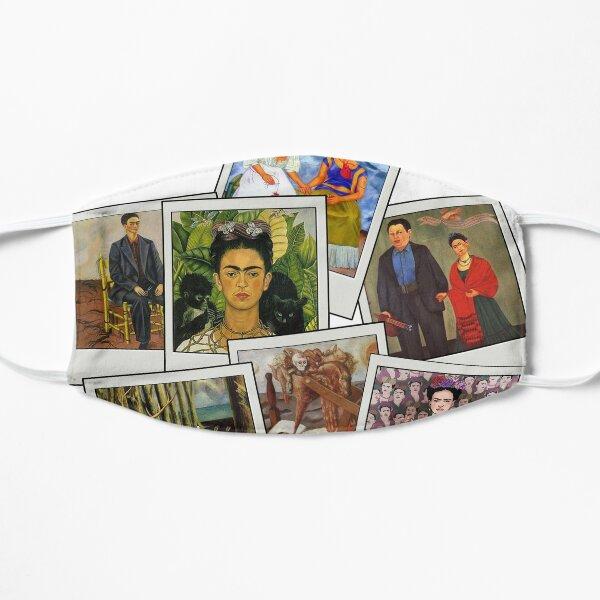 Polaroid Kahlo Mascarilla plana