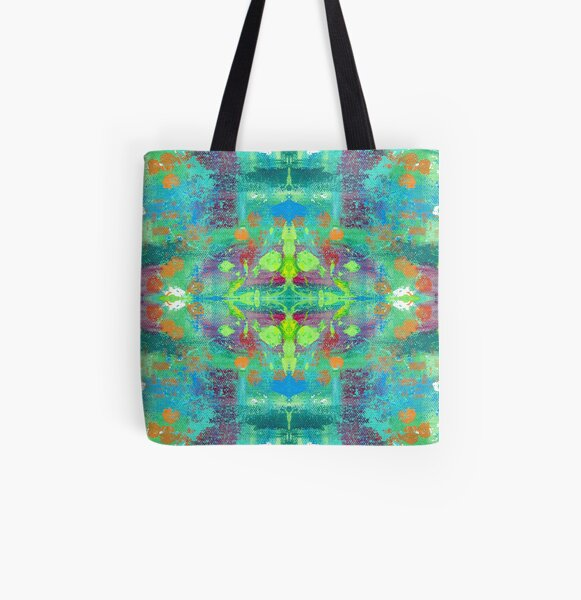 Trippy Drippy All Over Print Tote Bag