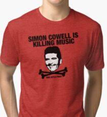 Simon Cowell Is Killing Music Tri-blend T-Shirt