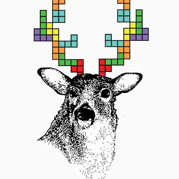 Tetris Deer by The-Lagz