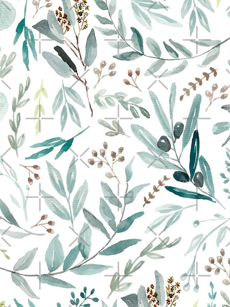 Eucalyptus Pattern by anisg