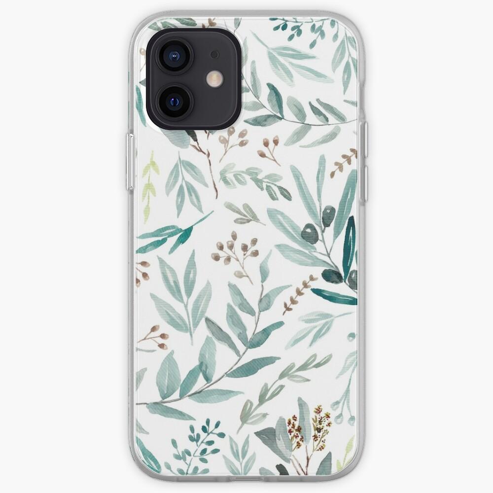 Eucalyptus Pattern iPhone Case & Cover
