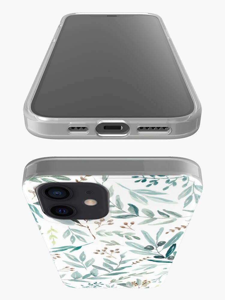Alternate view of Eucalyptus Pattern iPhone Case & Cover