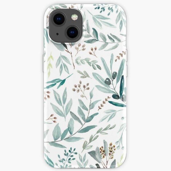Eucalyptus Pattern iPhone Soft Case