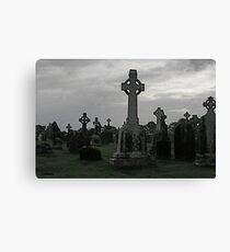 Clonmacnoise, Ireland Canvas Print