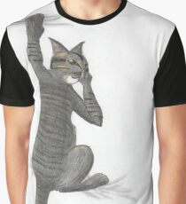 Stalk Cat Graphic T-Shirt