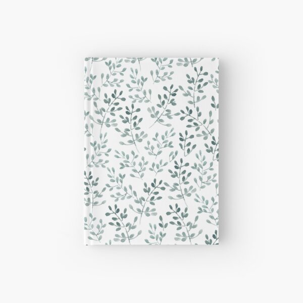 Ramitas pattern Cuaderno de tapa dura