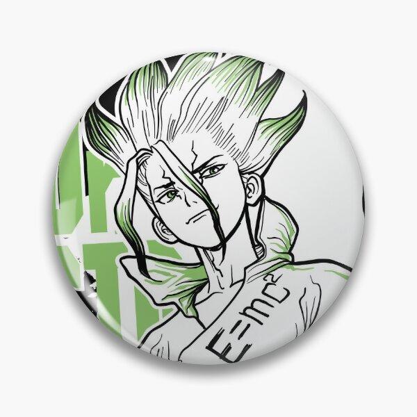 Stone scientist Pin
