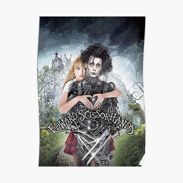 Edward aux mains d'argent (1990) Poster