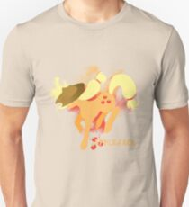 Applejack Silhouette Unisex T-Shirt