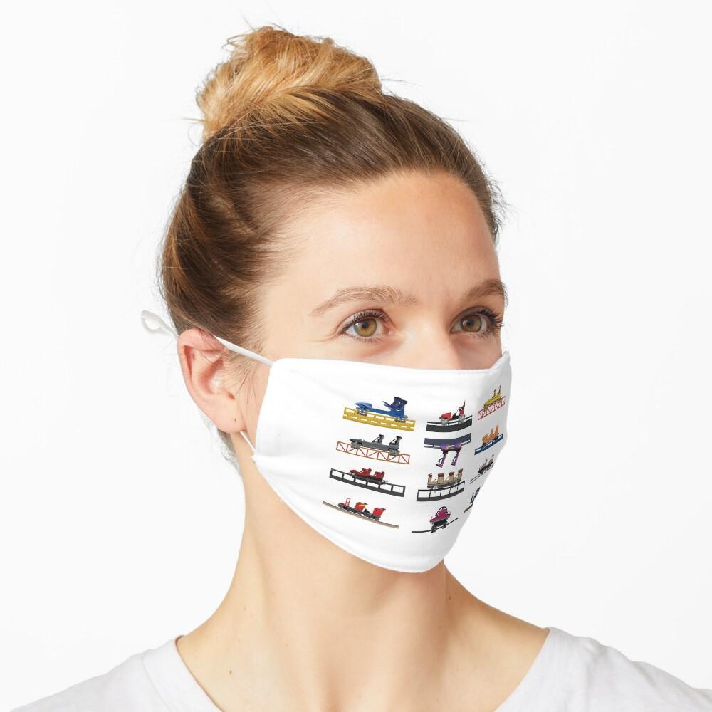 Hersheypark Coaster Cars Design Mask