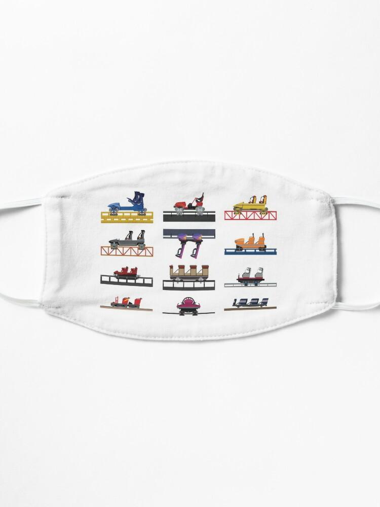 Alternate view of Hersheypark Coaster Cars Design Mask