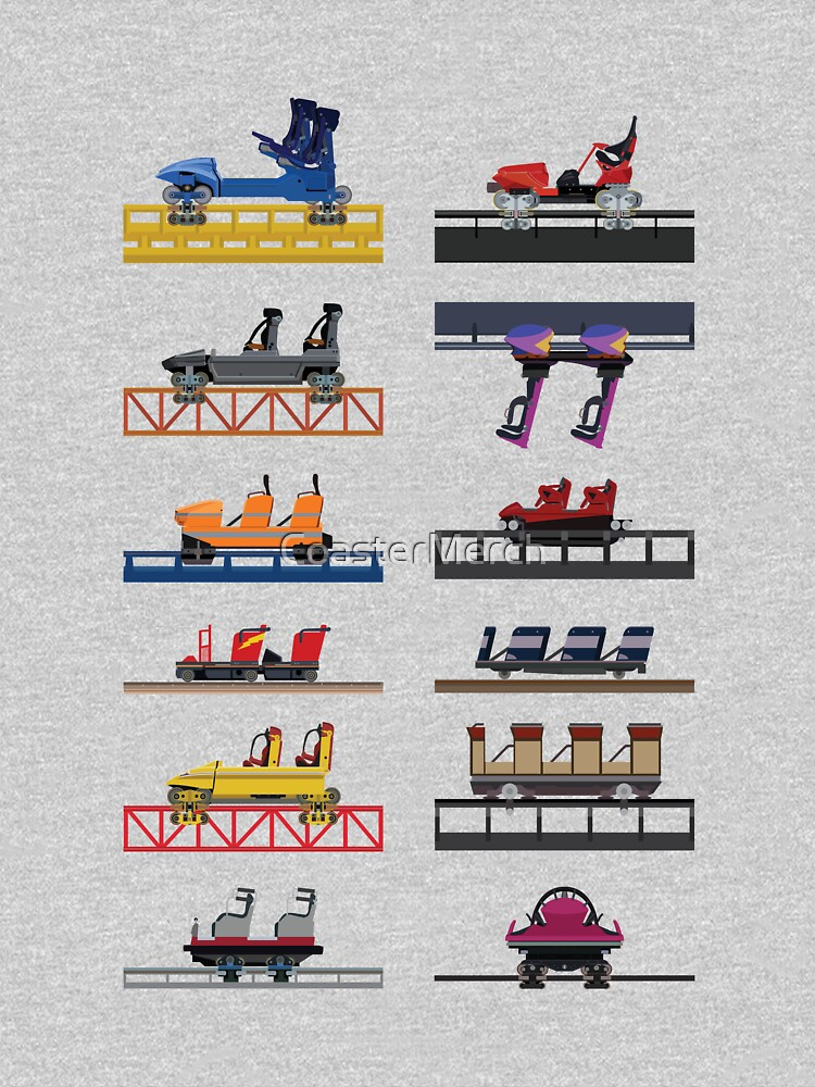 Hersheypark Coaster Cars Design by CoasterMerch