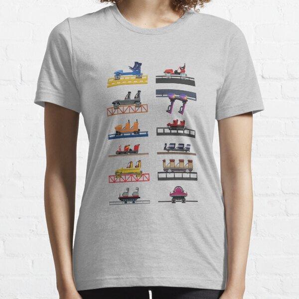 Hersheypark Coaster Cars Design Essential T-Shirt