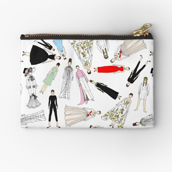 Audrey Scattered Zipper Pouch