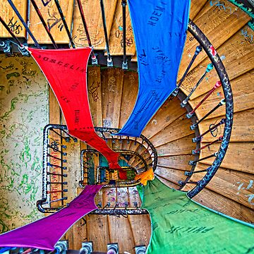 Artists stairwell by vicpug