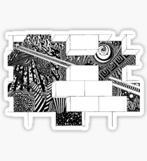 tadpole mind Sticker