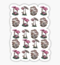 Multiple Mushrooms  Sticker