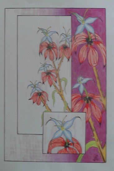 fantasy flower 1 by Gez Sullivan