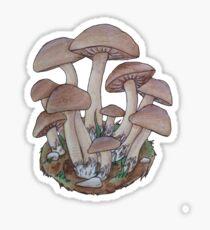 Mushroom Cluster  Sticker