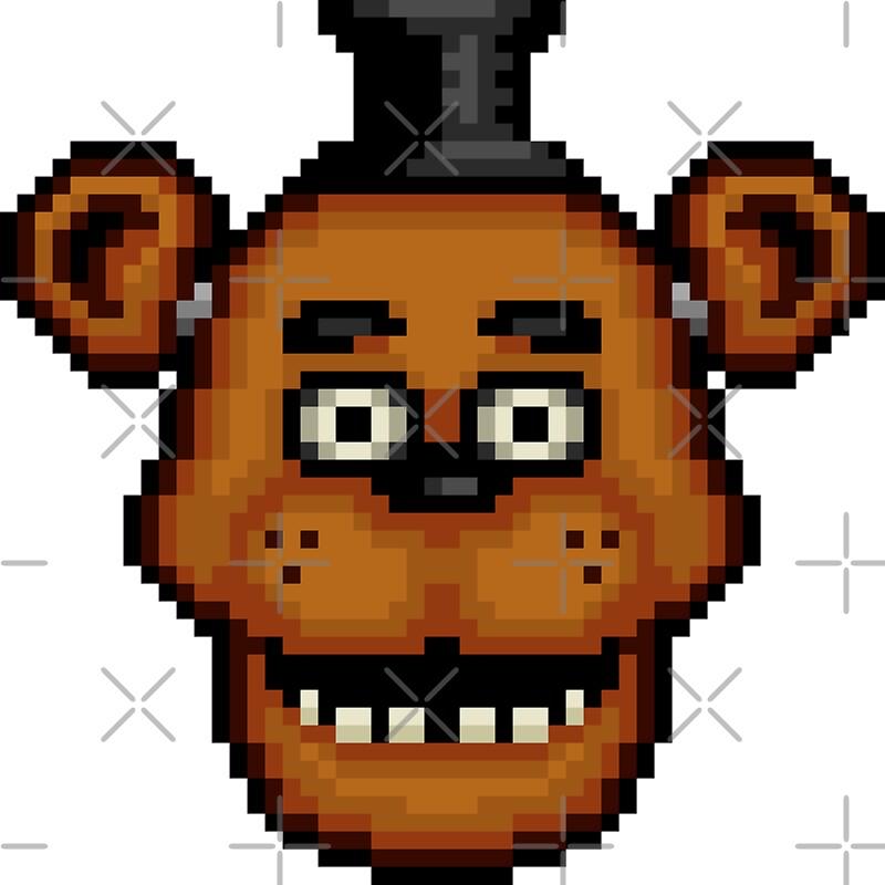 pixel art fnaf