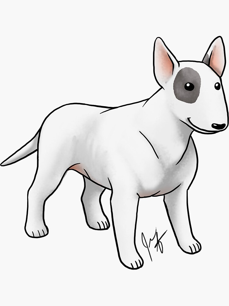 Bull Terrier by jameson9101322