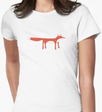 Red Fox Women's Fitted T-Shirt